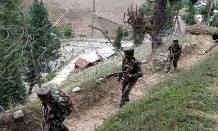 soldier injured in kupwara loc firing