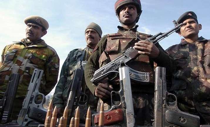 soldier militant killed in kashmir gunfight