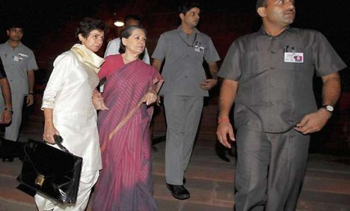 sonia gandhi did not require any definitive treatment aiims