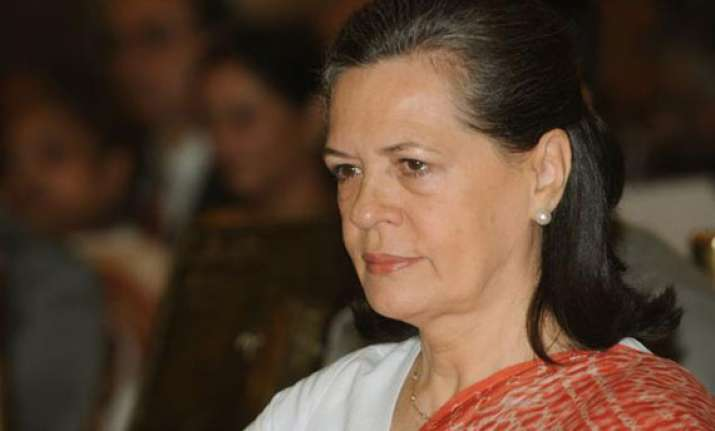 sonia gandhi lashes out at sp govt in up
