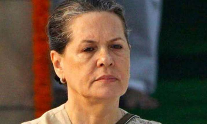 sonia s maharashtra tour cancelled due to health reasons