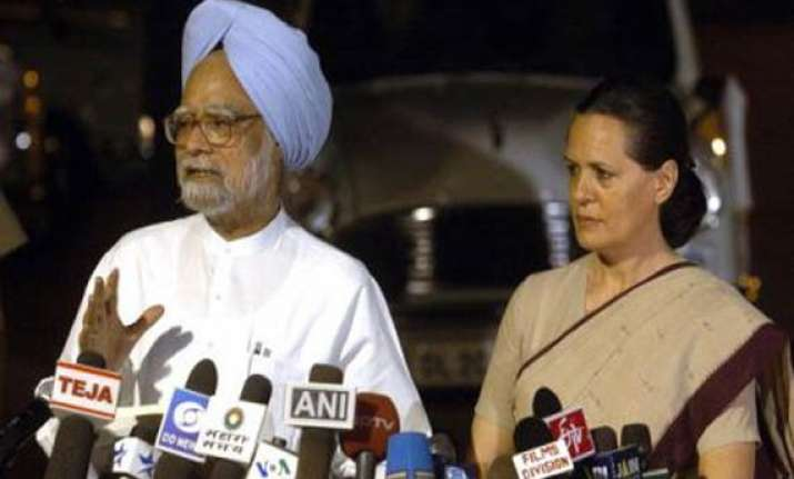 congress plays down report of sonia angry with pm over food