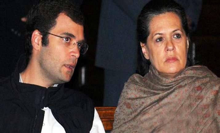 sonia rahul gandhi say bjp responsible for defeat of lokpal