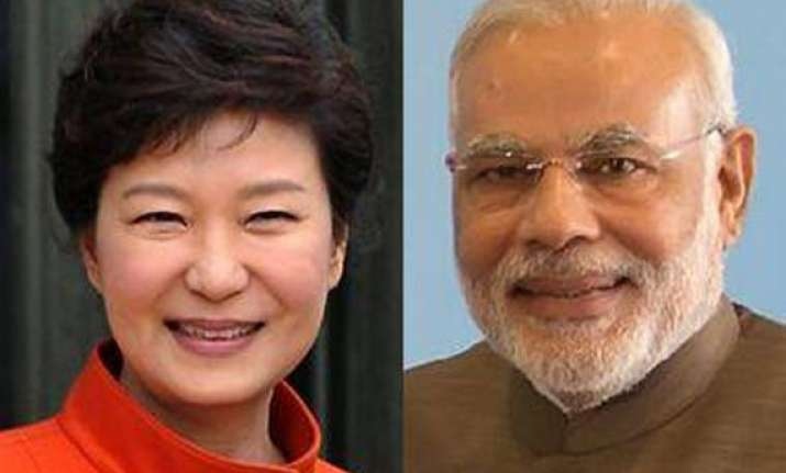 south korean president calls narendra modi hopes to expand