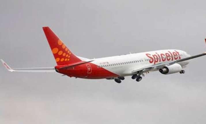spice jet plane makes emergency landing after fire alarm