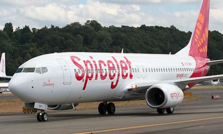 spicejet lands in lucknow after passenger falls ill