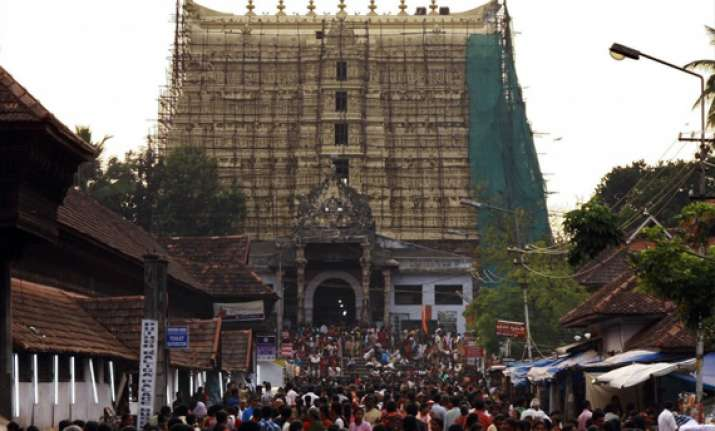 sree padmanabhaswamy temple treasure s documentation begins