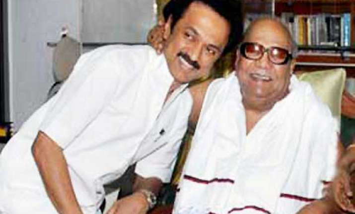stalin emerges as dmk heir apparent