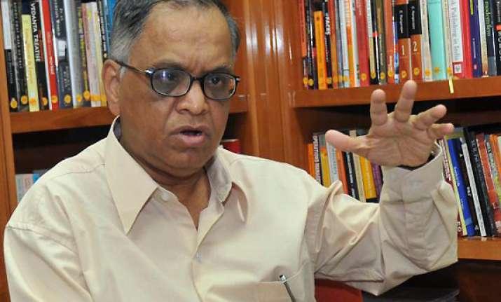 stop highlighting crime corruption violence narayana murthy