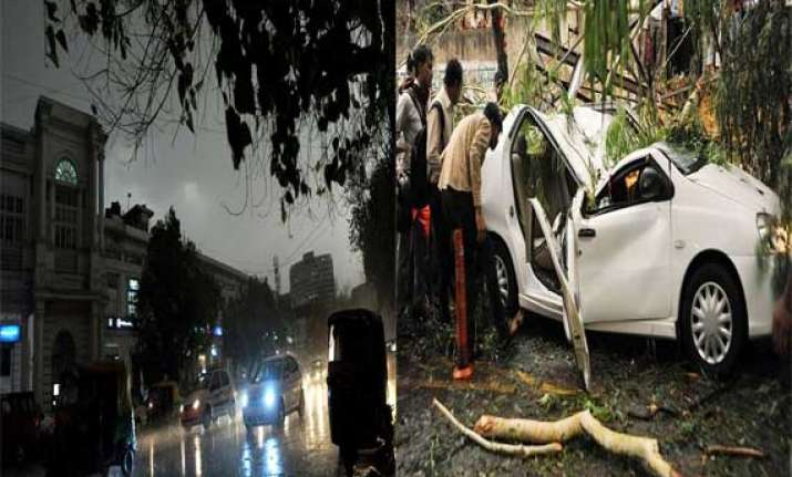 9 killed as massive storm slams delhi ncr causes huge damage