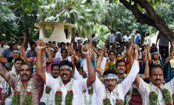 striking ap government employees to hold talks with cm