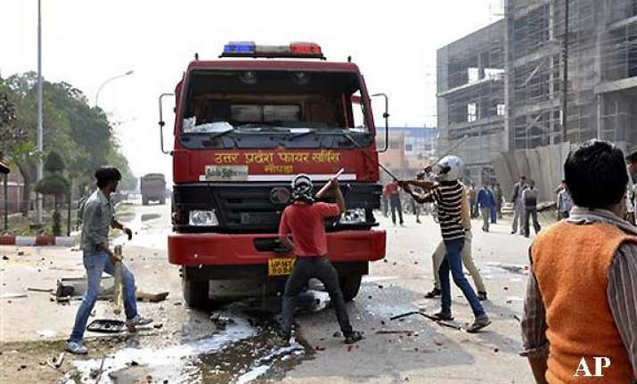 25 vehicles set on fire during trade union protest 50
