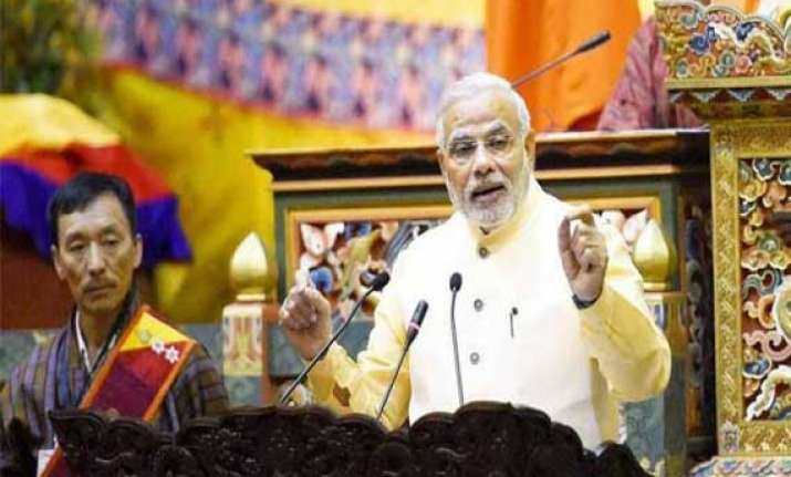 strong prosperous india beneficial to neighbours modi