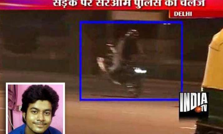 stunt biker injured delhi biker likely to be arrested