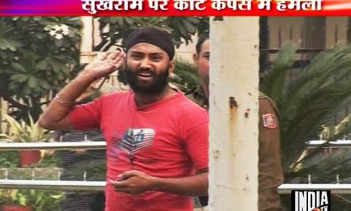sukh ram assaulted by youth shivered while being sentenced