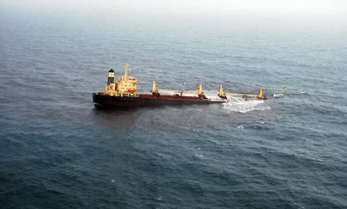 sunken vessel s captain chief engineer arrested