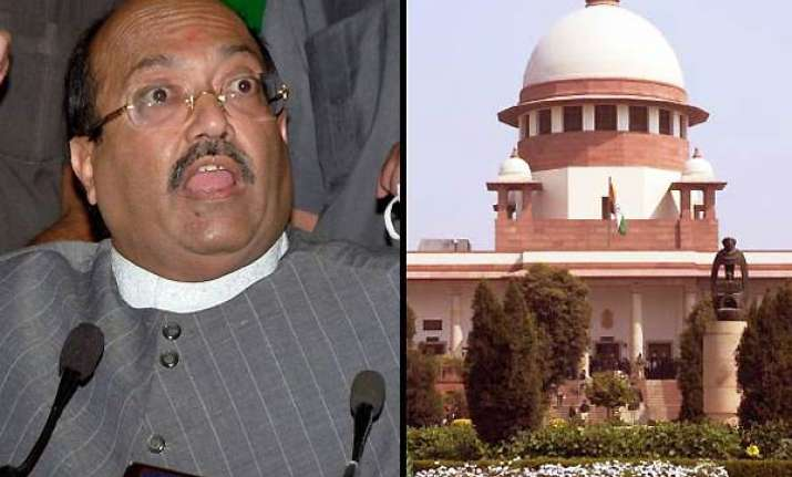 supreme court lifts ban on publication of amar singh tapes
