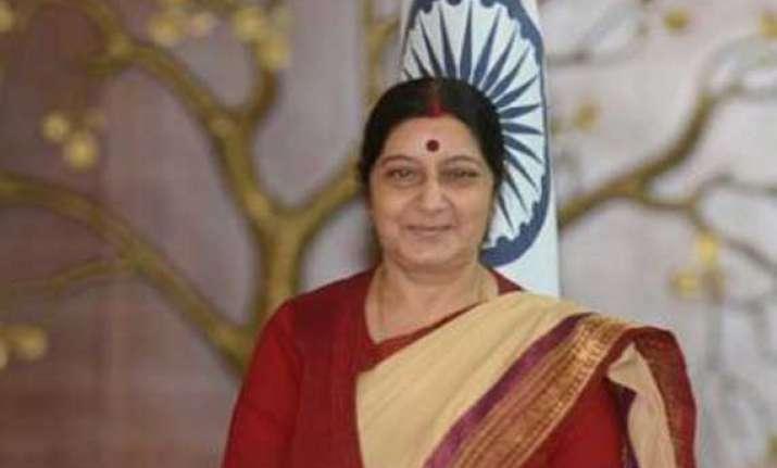 sushma swaraj on two day visit to dhaka teesta lba to be