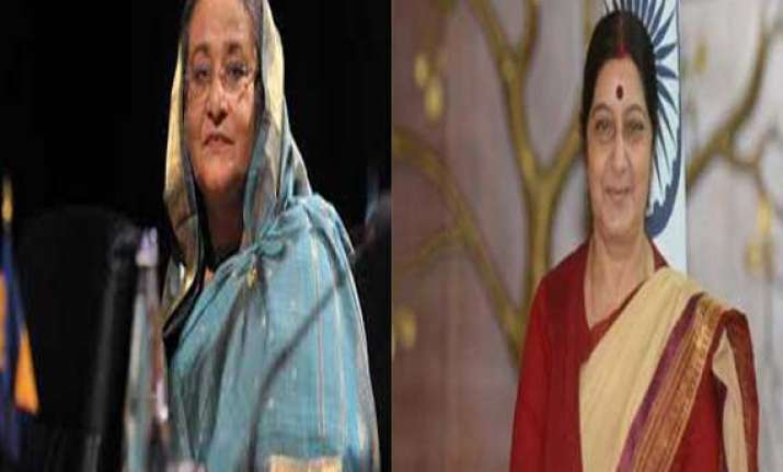 india bangladesh engage in saree diplomacy