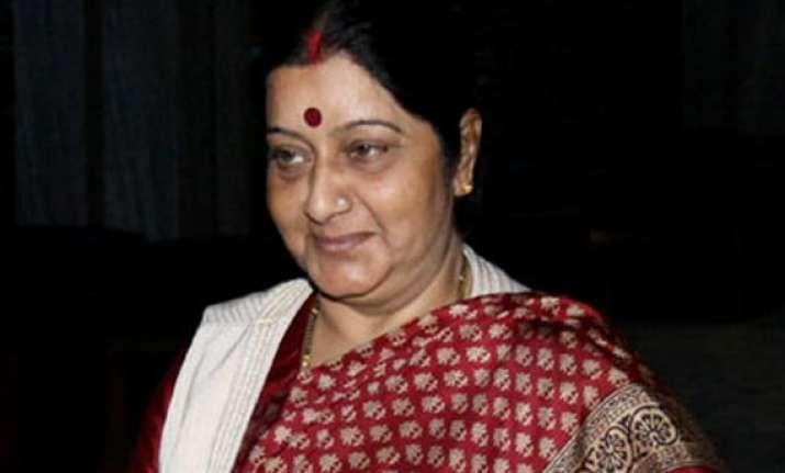 sushma swaraj to embark on three day visit to vietnam