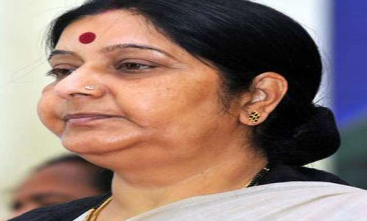 sushma swaraj gives odisha rallies a miss