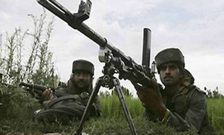 suspected guerrilla killed in kashmir