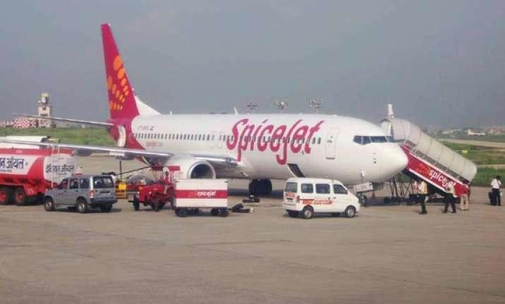 suspicious packet delays new delhi bound spice jet flight