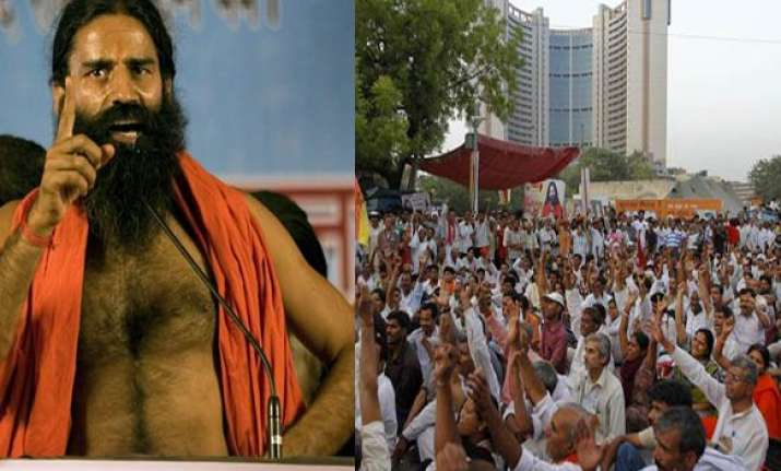 swami ramdev asks supporters to protest police action