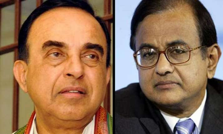 swamy alleges pranab s office was bugged on chidambaram s