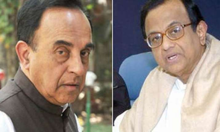 swamy says chidambaram may have to quit by new year