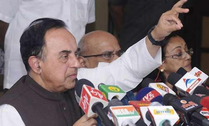 swamy welcomes cbi probe in 2g allocation during mahajan s
