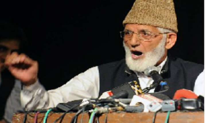 syed ali shah geelani gave recommendation letter for let