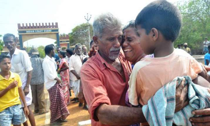 66 tn fishermen return home from sri lanka
