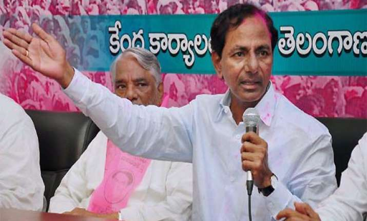 trs chief to contest both ls assembly polls in telangana