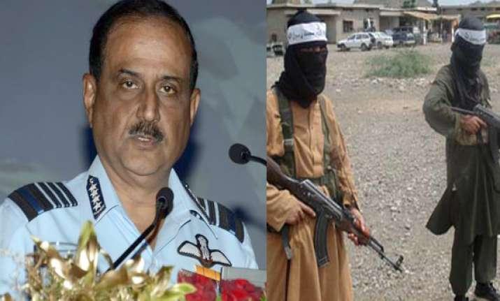 talibanisation of pak can reach wagah border soon warns iaf
