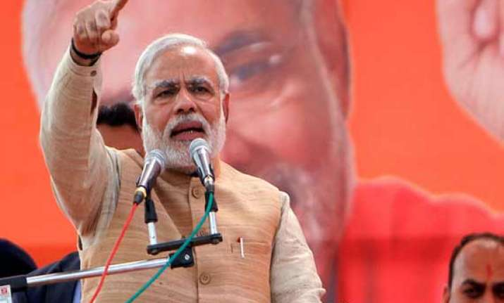 talks with pakistan when no cross border terrorism says modi