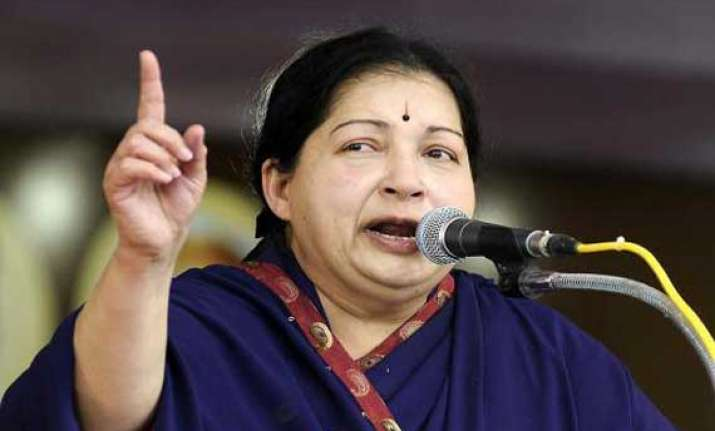tamil industrialists not to invest in karnataka jayalalithaa