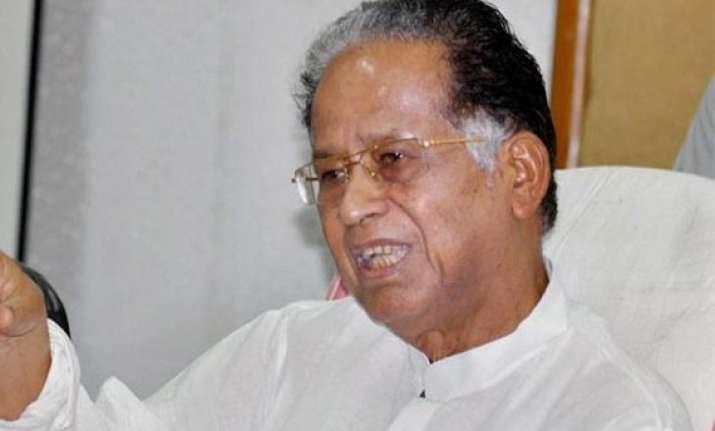 tarun gogoi for cbi to probe into assam nagaland border