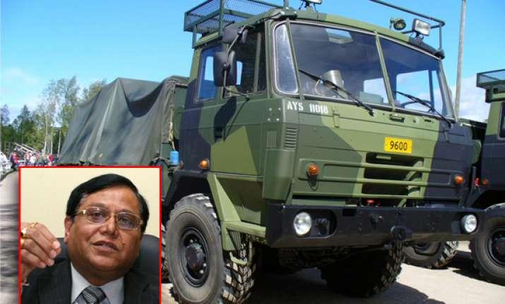tatra trucks outstanding says drdo chief