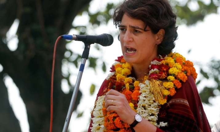 teach your leaders a lesson priyanka tells voters