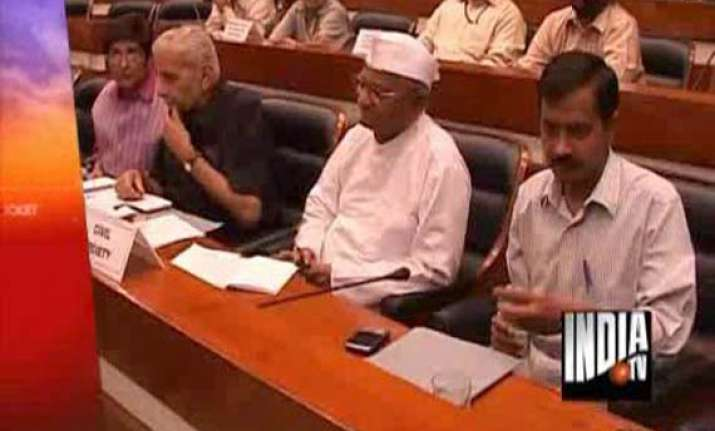 team anna to chalk out strategy for proposed protest