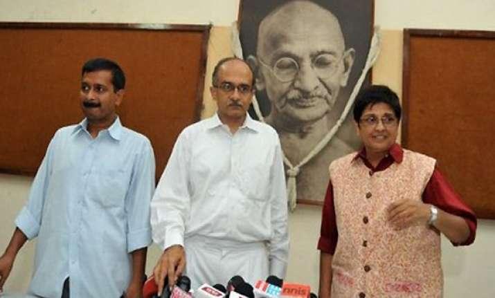 team anna to tour poll bound states from jan 21