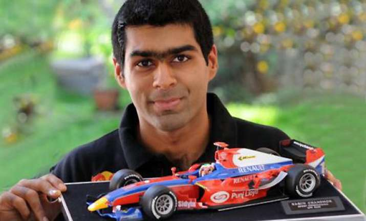 team lotus leaves out karun chandhok for indian grand prix