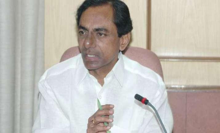 telangana cm promises waiver of crop loans worth rs 12 000