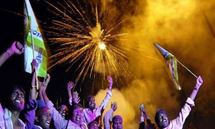 telangana hyderabad to erupt in joy at stroke of midnight