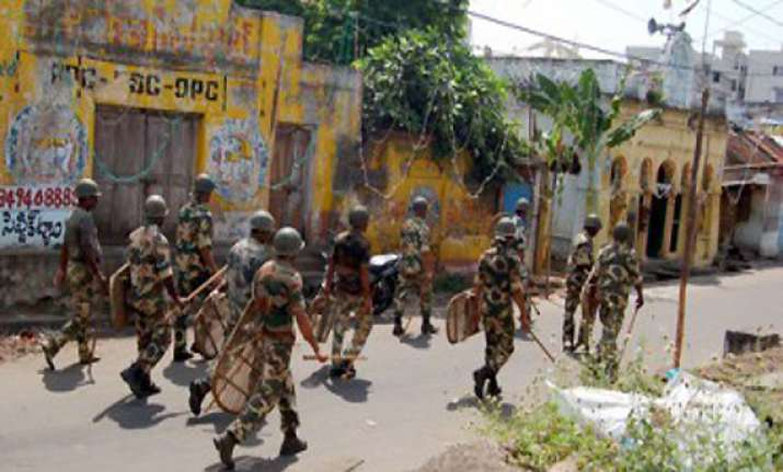 telangana peace returns to vizianagaram curfew lifted