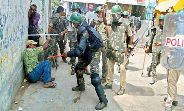 telangana curfew lifted in vizianagaram for 14 hours