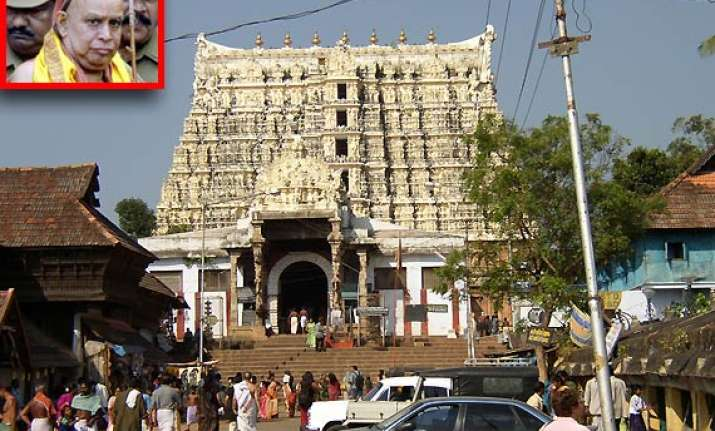 temple treasures belong to royal family kanchi