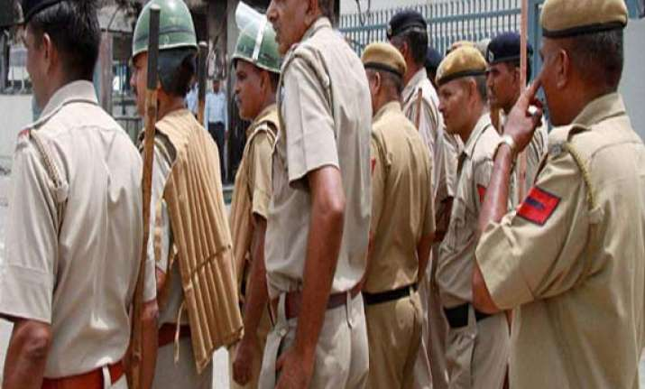 tension in up village after clash between two communities