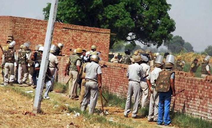 tension in western up leaders prevented from going to